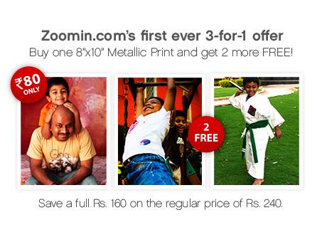 8 x10 Metallic Prints - Buy 1 Get 2 FREE